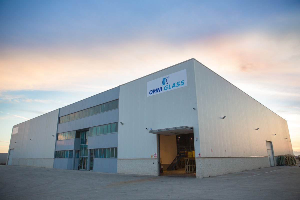 Omniglass Distribution Center Southern Europe
